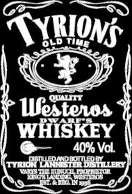 Tyrion's Whiskey – t-shirt damski