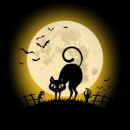 Kot na Cmentarzu – podstawka pod kubek