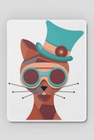Steampunk Cat – podkładka pod myszkę