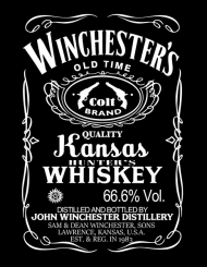 Winchester's Whiskey – podkładka pod myszkę