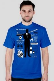 Sterling Archer — cytaty – t-shirt męski