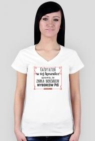Magiczna koszulka dla pań