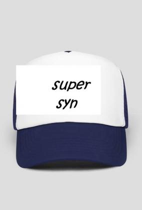 """czapka z daszkiem  ,, super syn """""""