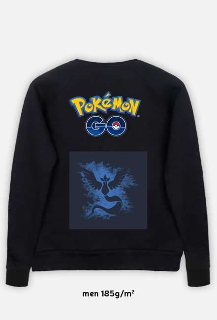 Bluza Pokemon Go/ Team Mystic