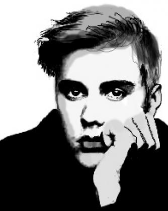 Torba biała -Justin  Bieber