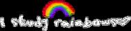 """Koszulka """"I study rainbows (Harry Styles)"""""""