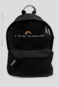 """Plecak """"I study rainbows (Harry Styles)"""""""
