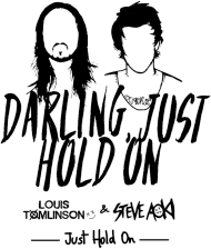 "Bluza męska ""Just Hold On"""