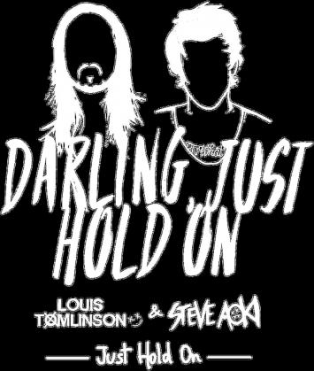 """Koszulka męska """"Just Hold On"""""""