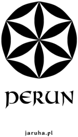 Kubek biały - Perun