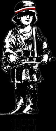 Koszulka męska Mały Powstaniec