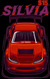 Bluza męska - Nissan Silvia S15 - CarCorner