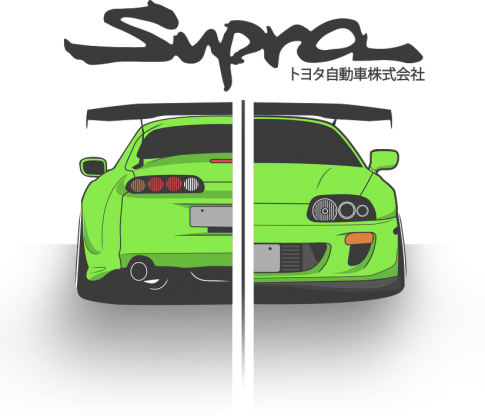 Bluza męska - Toyota Supra  - CarCorner