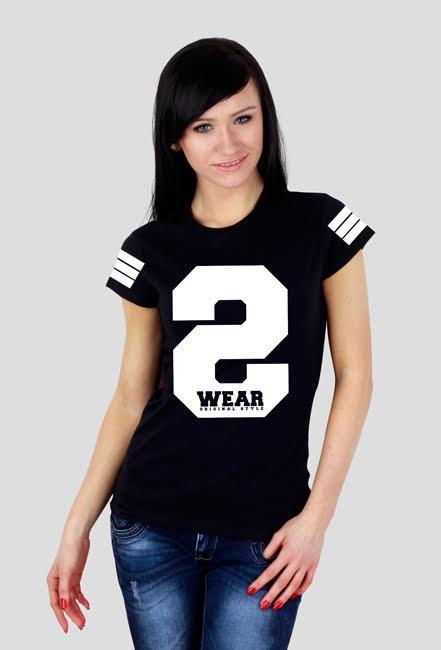 Koszulka damska [S-WEAR black]