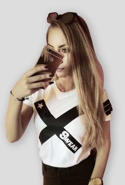Koszulka damska [SWEAR X WHITE]