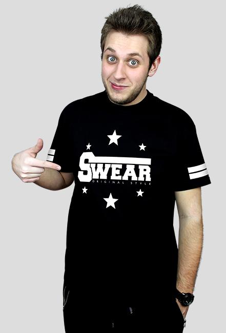 Koszulka męska [SWEAR STAR BLACK]