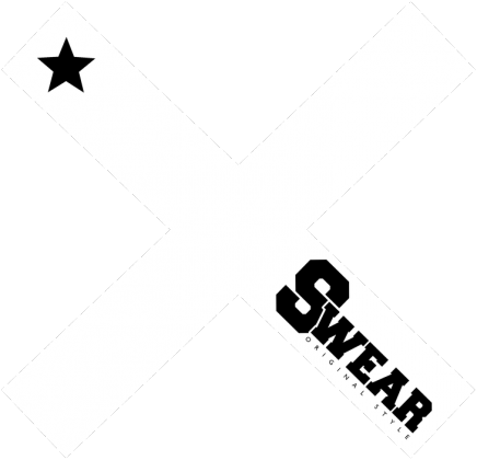 Koszulka męska [SWEAR X BLACK]