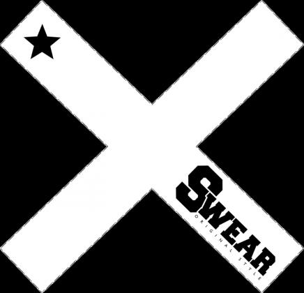 Koszulka damska [SWEAR X BLACK]