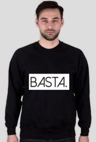 Basta. Czarna bluza męska bez kaptura