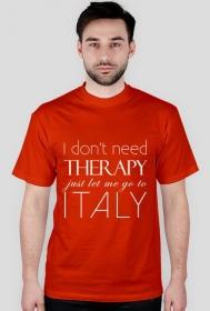 I don't need therapy koszulka meska kolory