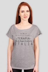 Tshirt Non ho bisogno di andare in terapia ho solo bisogno di andare in Italia