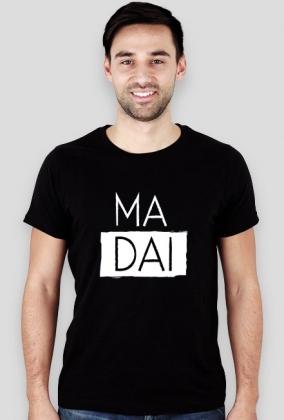 Ma dai czarny/granatowy tshirt męski