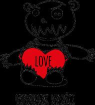 """""""Niewolnik miłości"""" - poszewka na poduszkę"""