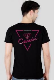 Koszulka slim CASANDRA #1 (logo przód i tył) RÓŻNE KOLORY!