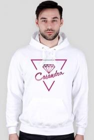 Bluza biała CASANDRA #1 (logo przód)