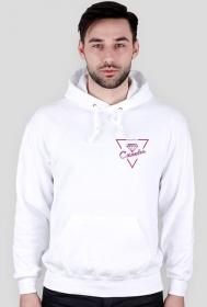 Bluza biała CASANDRA #1 (logo przód i tył)