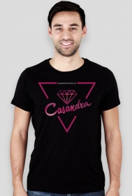 Koszulka slim CASANDRA #1 (logo przód) RÓŻNE KOLORY!