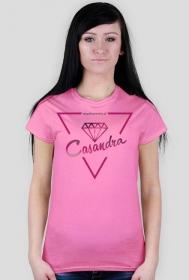 Koszulka CASANDRA #1 (logo przód) RÓŻNE KOLORY!