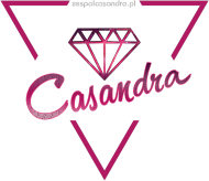 Bokserka czarna CASANDRA #1 (logo przód)