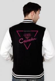 Bluza college CASANDRA #1 (logo przód i tył) RÓŻNE KOLORY!
