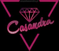 Bluza double color biała CASANDRA #1 (logo przód)