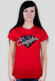Koszulka CASANDRA #2 (logo przód) RÓŻNE KOLORY