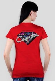 Koszulka CASANDRA #2 (logo przód i tył) RÓŻNE KOLORY!