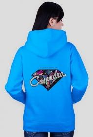Bluza CASANDRA #2 (logo przód i tył) RÓŻNE KOLORY!