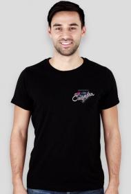 Koszulka slim CASANDRA #2 (logo przód i tył) RÓŻNE KOLORY!