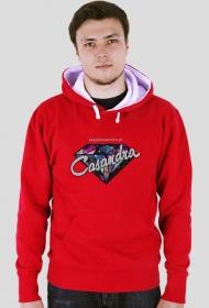 Bluza double color CASANDRA #2 (logo przód) RÓŻNE KOLORY!
