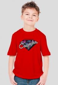 Koszulka CASANDRA #2 (logo przód) RÓŻNE KOLORY!