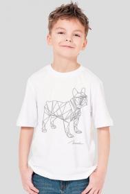 """koszulka dziecięca """"Buldożek"""""""
