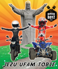 Jezu ufam Tobie koszulka Biker Boyz