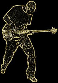 Bass player C Koszulka męska slim