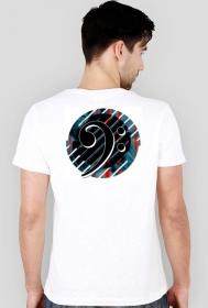 Klucz basowy B5 Koszulka męska slim