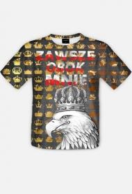 koszulka z nadrukiem Polish Orzeł