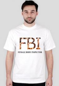 koszulka z nadrukiem Polish FBI