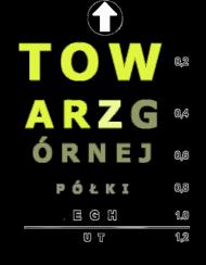 koszulka z nadrukiem Polish Wzrok