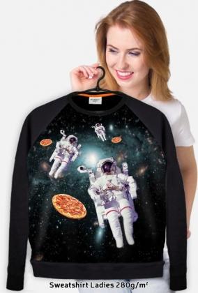 kosmos, pizza i kosmonauci