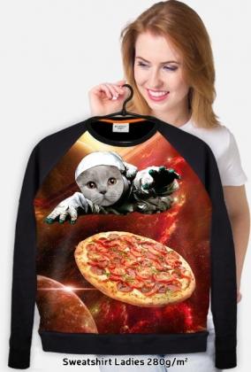 kot, pizza i kosmos